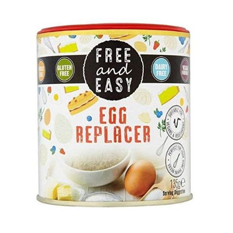 Free & Easy Egg Replacer Vegan Gluten & Dairy Free 135g